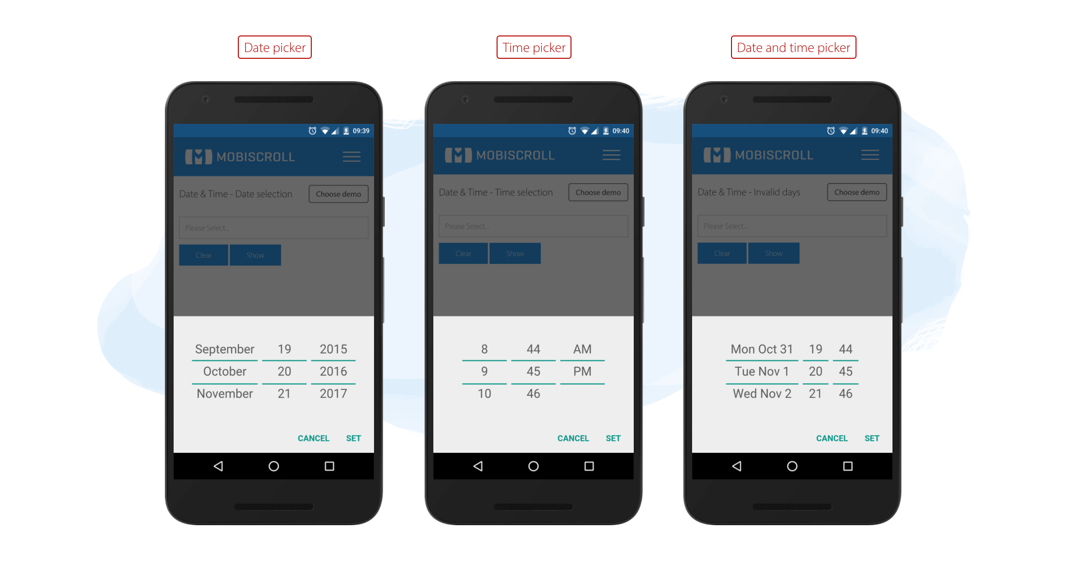 Controls for Android