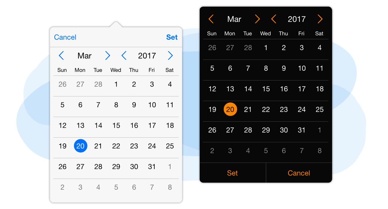 Responsive Calendar